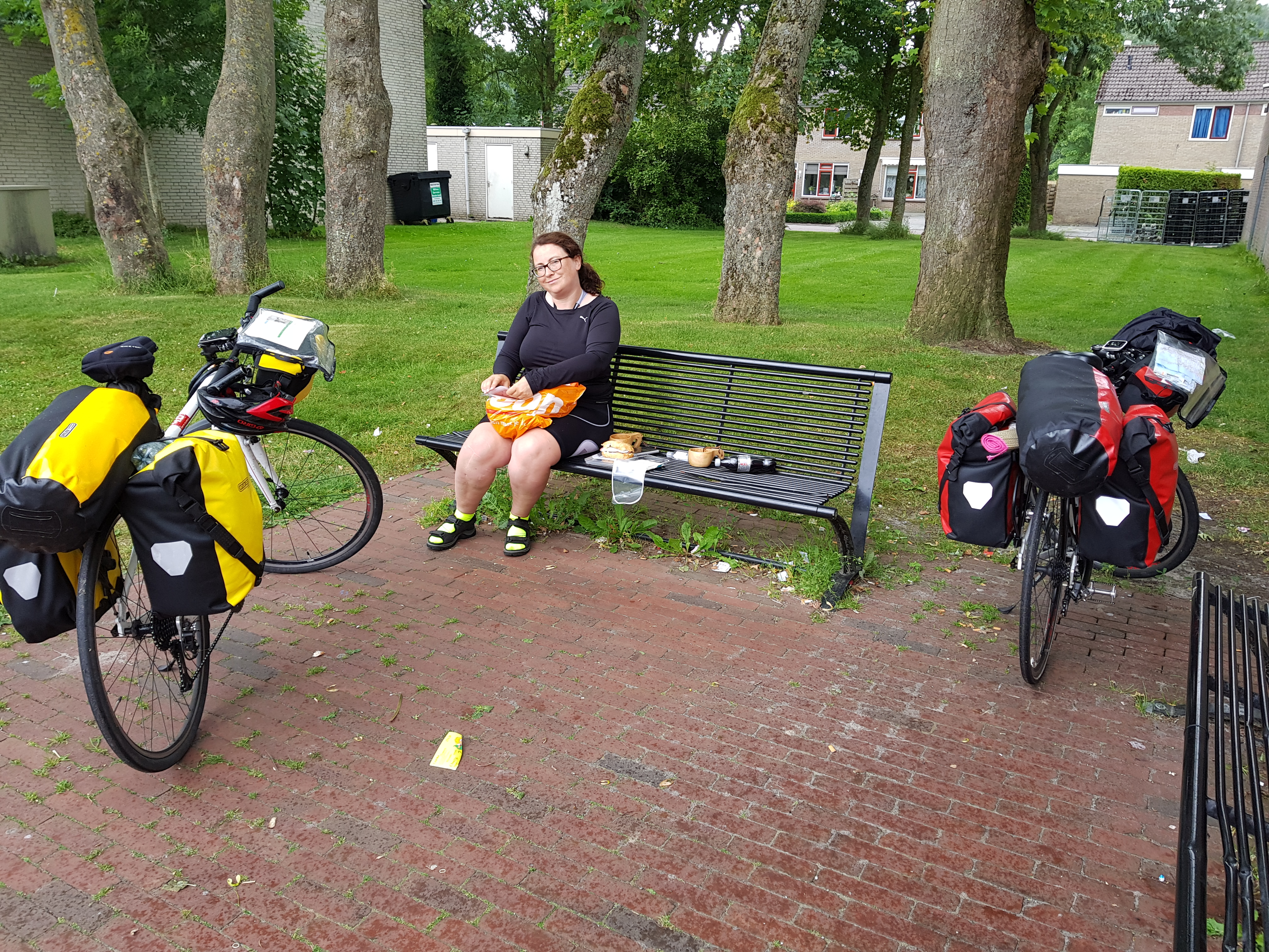 hjem jobb hjem sykkelverksted